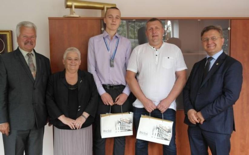 Pasveikintas biržietis - Europos čempionato sidabrą iškovojusios Lietuvos jaunučių komandos žaidėjas