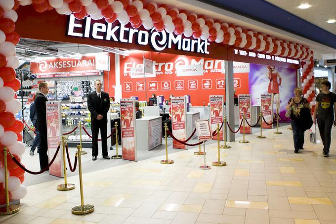 """""""Elektromarkt"""" į tinklo plėtrą investuoja 2 mln. eurų"""
