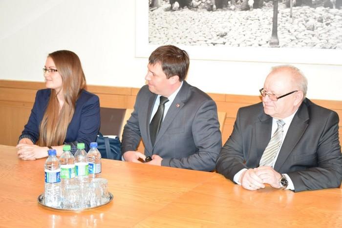 Panevėžio miesto meras susitiko su verslininkais