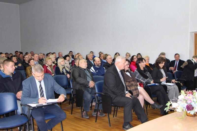 Žemės ūkio ministras susitiko su Panevėžio rajono žemdirbiais