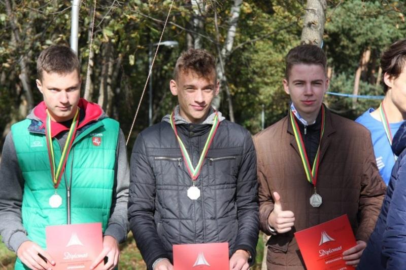 Jaunieji Panevėžio orientacininkai – vicečempionai