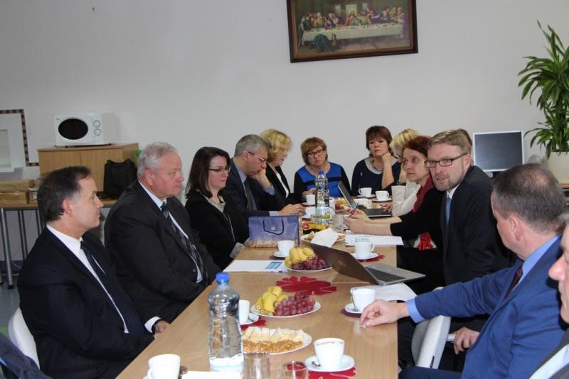 Panevėžio rajone lankėsi socialinės apsaugos ir darbo ministras