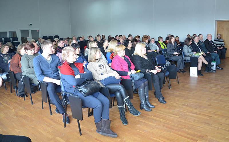 Bendruomenių sąjunga suskaičiavo nuveiktus darbus, nusilenkė šviesuoliams