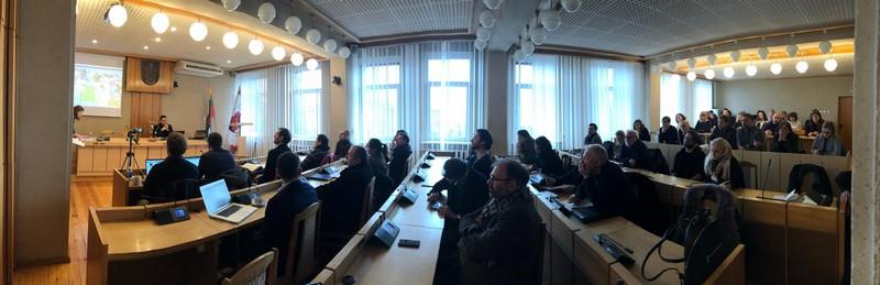 Architektų susitikimas dėl būsimojo S. Eidrigevičiaus menų centro