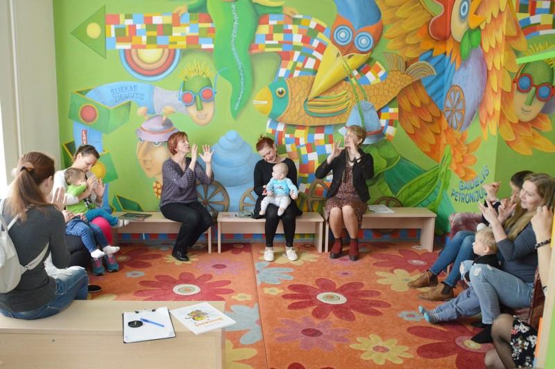 Bibliotekoje – užsiėmimai šeimoms