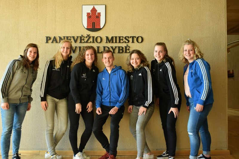 Panevėžyje praktiką atlieka Nyderlandų studentai