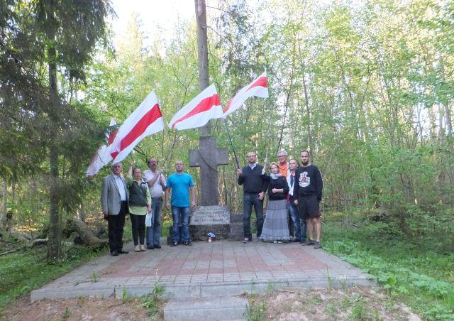 Baltarusijos opozicijos atstovai Biržuose paminėjo 155-as 1863 m. sukilimo metines