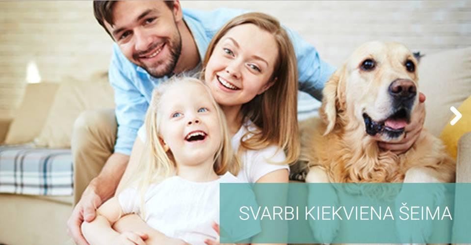 Kompleksinės paslaugos šeimai Klaipėdos mieste