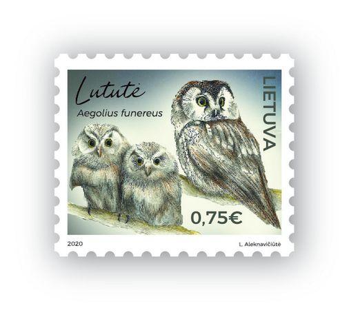Išleidžiamas pašto ženklas, skirtas paslaptingiausiam Lietuvos paukščiui