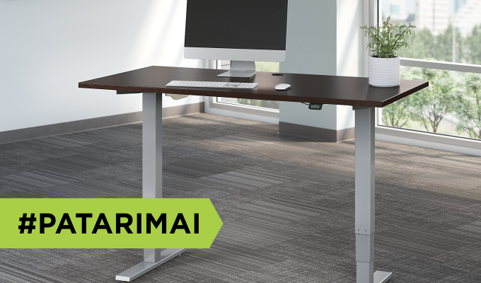 Kaip teisingai išsirinkti reguliuojamo aukščio darbo stalą?