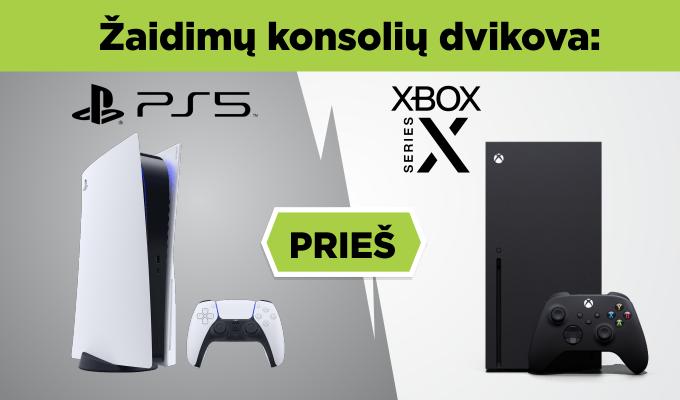 """""""PlayStation 5"""" ar """"Xbox Series X""""? Viskas, ką žinome apie naujos kartos žaidimų konsoles"""